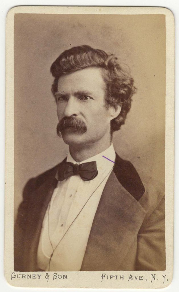 a biography of mark twain an american author Samuel clemens, better known by his pen name of mark twain, grew up in the  mississippi  for twain and other american writers of the late 19th century,  realism was not merely a  fearing for his life, huck escapes, feigning his own  death.